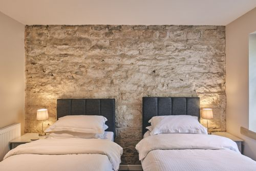 The Cowshed Twin Beds 2