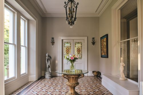 The Manor Hallway