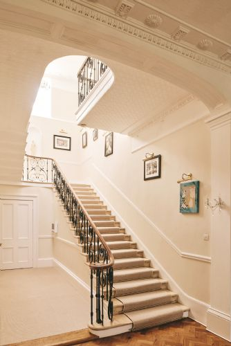 The Manor Stairway
