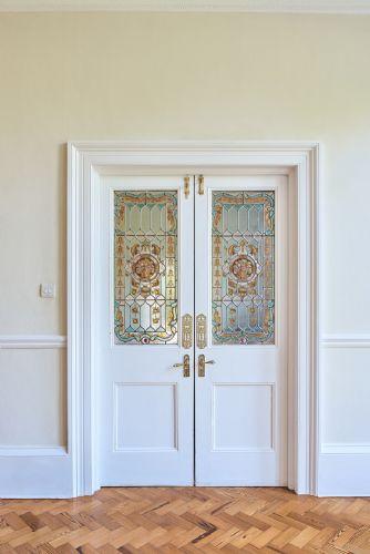 The Manor Double Doors