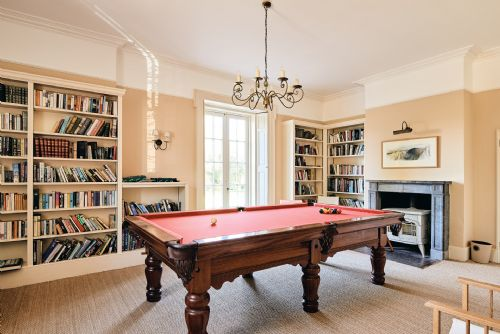 The Old Rectory Snooker Table