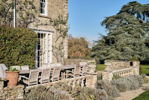 The Old Rectory Outside Seating