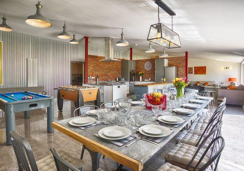 The Luxury Loft House Dining