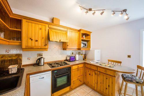 Glen View Cottage Kitchen