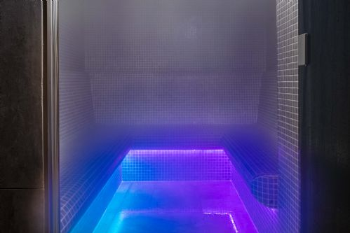 Head to the hammam to let off steam
