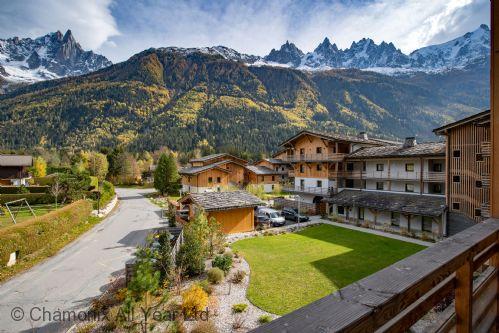 Views of Mont Blanc Massif