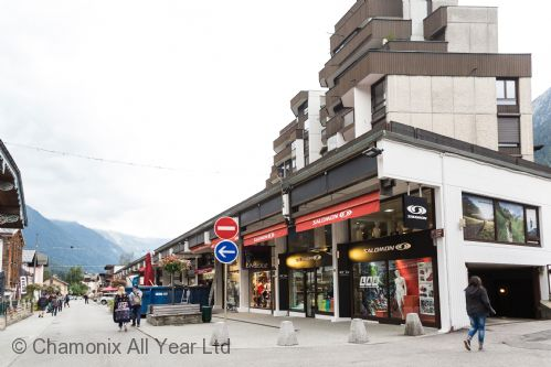 Situated on the pedestrianised main street