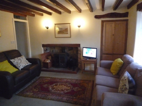 Rook Cottage, Winton, Lounge, Lakes Cottage Holidays