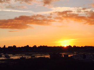 Sunset at 15 Avocet Quay
