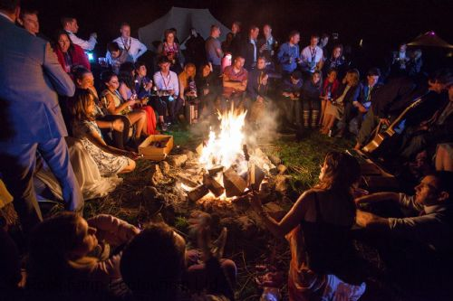 Campfire fun at Rock Farm Slane