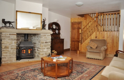 Threshings Cottage, lounge Cottage Holiday Group