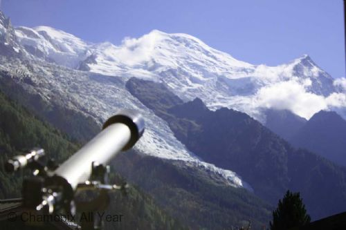 Use the telescope for star gazing or mountain watching