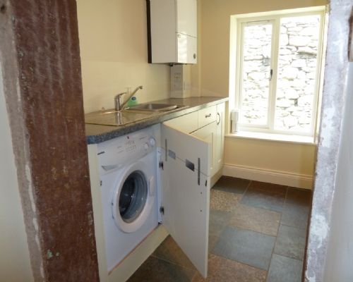Greenbank Farmhouse, utility room, Lakes Cottge Holidays