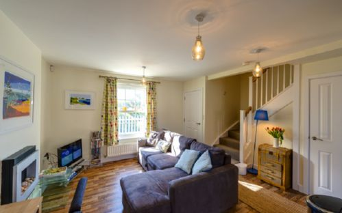 Holiday Cottage Camber Sands Beach East Sussex Dog And