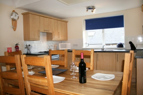 Whitbarrow Holiday Village, Dining and kitchen area, Lakes Cottage Holidays