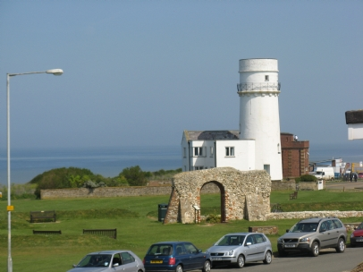VIEW OF THE WASH AND LIGHTHOUSE FROM DORMER BEDROOM