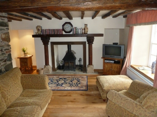 Deer How, Patterdale, lounge, Lakes Cottage Holidays
