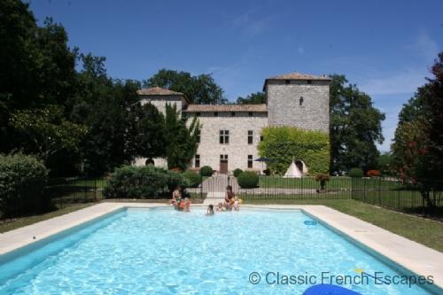 Commanding Chateau outside Bergerac