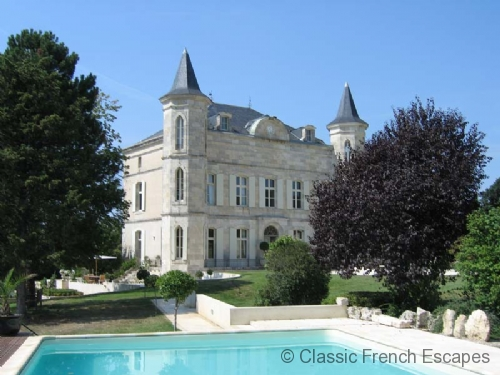 Chateau and Pool