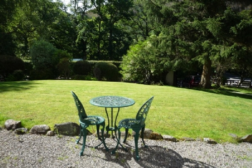 Clairgarth, garden, Lakes Cottage Holidays