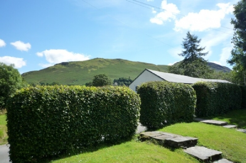 Clairgarth, View to Catbells, Lakes Cottage Holidays