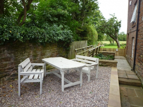 Carlton Mill, Carlisle, Garden, Lakes cottage holidays