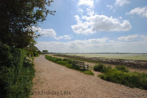 Emsworth beach only minutes from the house.
