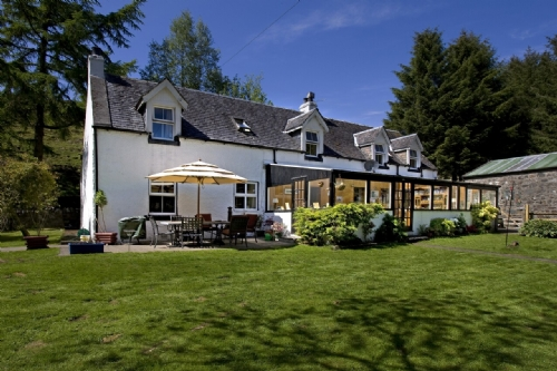 POPLAR LODGE, Lerags Glen, Oban, Argyll, Scotland