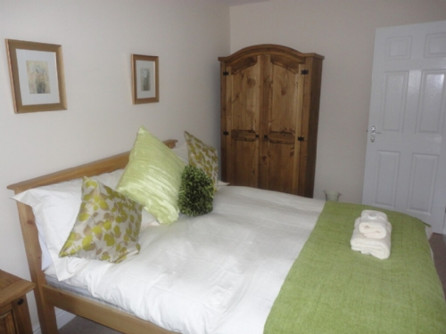 Powburn Cottage, double bedroom, near Alnwick, Northumberland