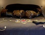 The Scottish Elephant's Nest, Muthill, Master Bedroom, Cottage Holiday Group