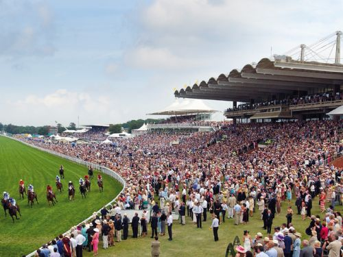 Horse racing at Glorious Goodwood