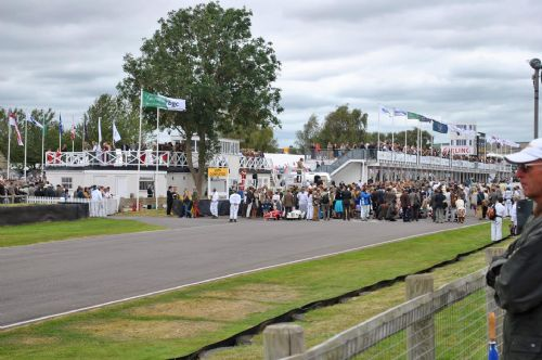 The Goodwood Revival motor racing