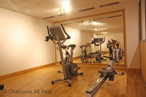 Gym available to use in the apartment complex