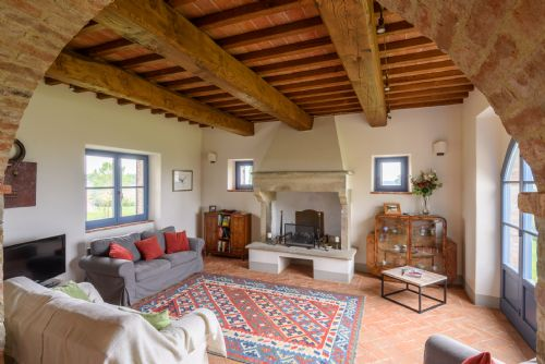 Very spacious family sitting room, direct access to terraces and gardens