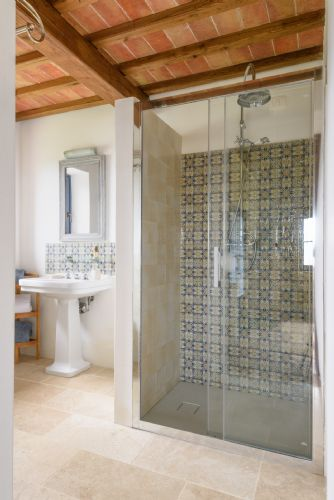 Bright Clean bathrooms
