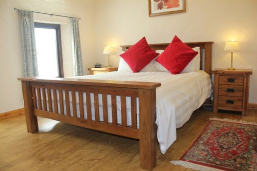 The Stables, bedroom, Lakes Cottage Holidays