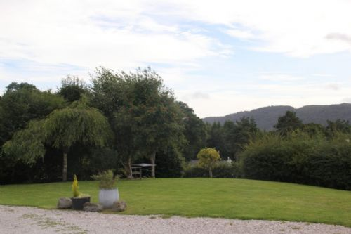 The Stables, garden, Lakes Cottage Holidays