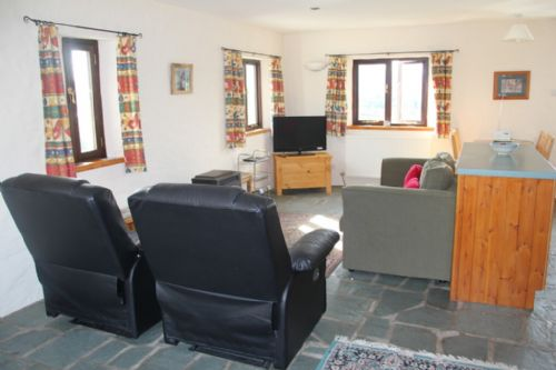 The Stables, open plan lounge, Lakes Cottage Holidays