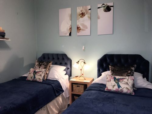 High View B&B Twin Room Kennington Oxford