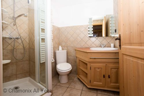 Ensuite bathroom with shower & WC