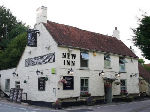 The New Inn at Shalfleet renowned for sea food