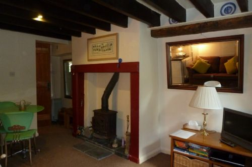 Nightingale Cottage, Living Room, Lakes Cottage Holidays