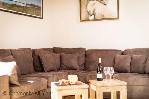Comfy large sofa