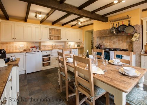 Farmhouse Kitchen with electric AGA