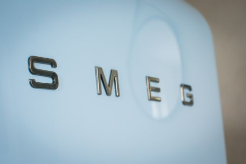 Designer details in Cocon Apartment - Smeg fridge