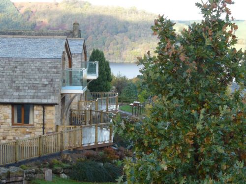 Cherry Cabin and views, Lakes Cottage Holidays