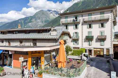 Central location in Chamonix town centre