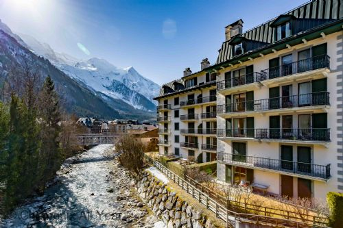 Residence des Alpes 2, river view