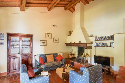 Tuscany, Casa Serena sitting room