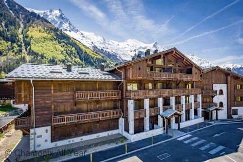New residence in Chamonix town centre